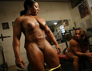 Recommend you Female bodybuilders carmella tubes